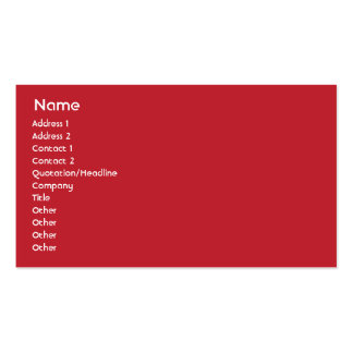 United States - Business Business Card Templates