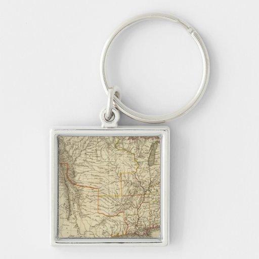 United States, Canada Keychains