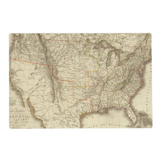 United States, Canada Placemat