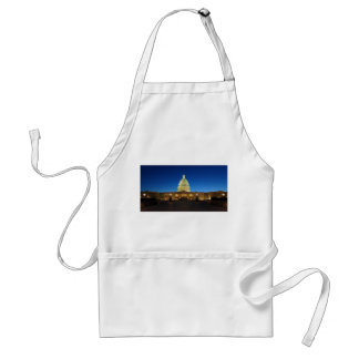 United States Capitol Building at Dusk Adult Apron