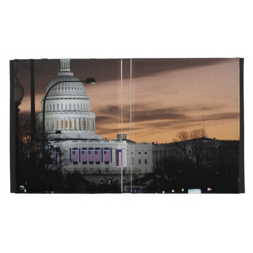 United States Capitol Building at Dusk iPad Case
