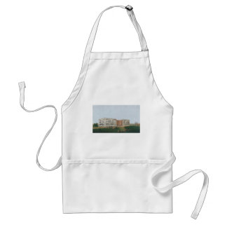 United States Capitol Building Being Rebuilt 1814 Adult Apron