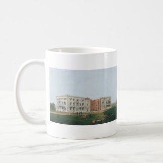United States Capitol Building Being Rebuilt 1814 Mug