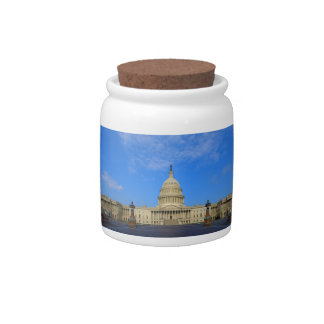United States Capitol Building East Side Candy Jars