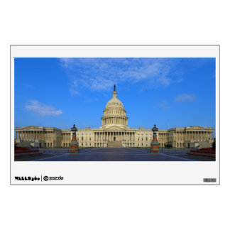 United States Capitol Building East Side Wall Sticker