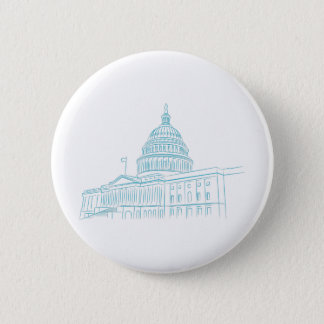 United States Capitol Building Landmark Button