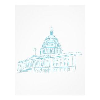 United States Capitol Building Landmark Letterhead