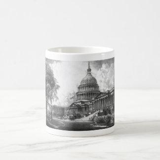 United States Capitol Building Mug
