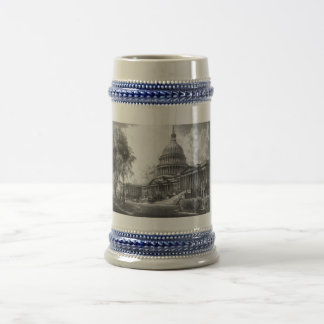 United States Capitol Building 18 Oz Beer Stein