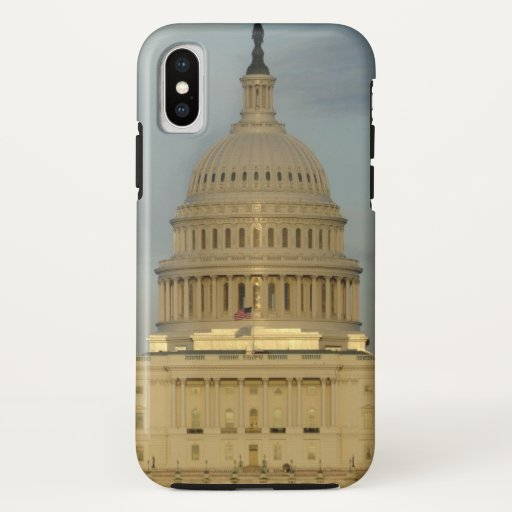 United States Capitol Building Photo iPhone X Case