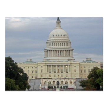 teknogeek United States Capitol Building Postcard