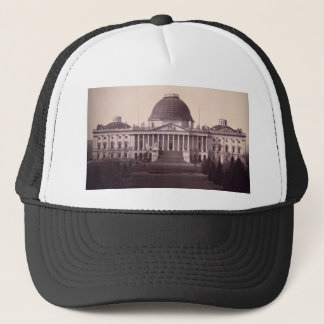 United States Capitol in Washington D.C. from 1846 Trucker Hat