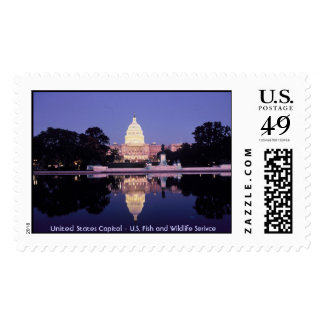 United States Capitol Postage