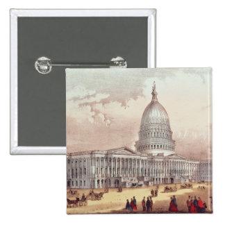 United States Capitol, Washington D.C. Button