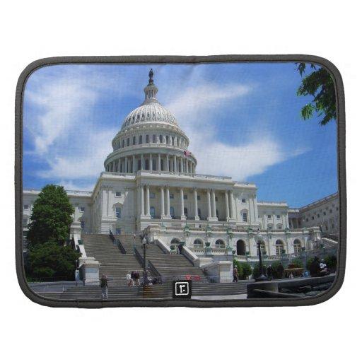 United States Capitol White House Washington DC Folio Planner
