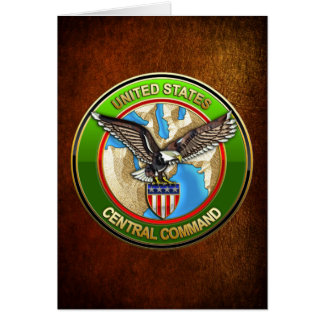 United States Central Command Card