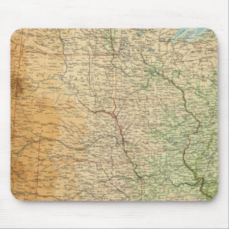 United States central section Mouse Pad