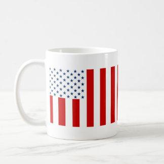 United States Civil Flag Sons of Liberty Variation Classic White Coffee Mug