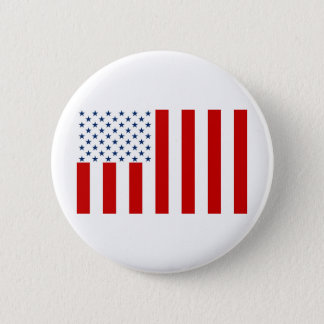 United States Civil Flag Sons of Liberty Variation Pinback Button