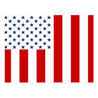 United States Civil Flag Sons of Liberty Variation Postcard
