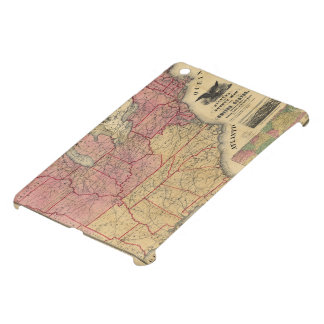 United States Civil War Map by Charles Magnus 1862 Case For The iPad Mini