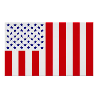 United States Civilian Flag of Peace Poster