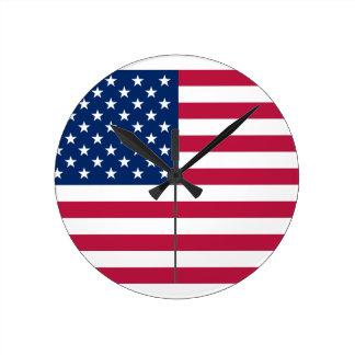 united states round clocks