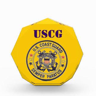 United States Coast Guard Acrylic Award