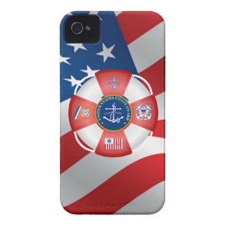 United States Coast Guard Anchor Case-Mate iPhone 4 Case