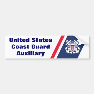 United States Coast Guard Auxiliary Bumper Sticker