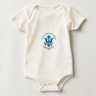 United States Coast Guard Baby Bodysuit