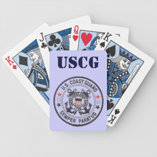 United States Coast Guard Bicycle Playing Cards