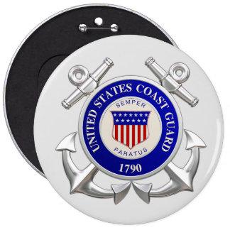 United States Coast Guard Big Round Button