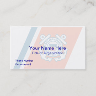 United states coast guard business cards zazzle united states coast guard business card colourmoves