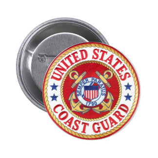 united states coast guard pinback buttons