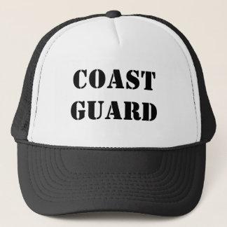 UNITED STATES COAST GUARD BY WASTELANDMUSIC.COM TRUCKER HAT