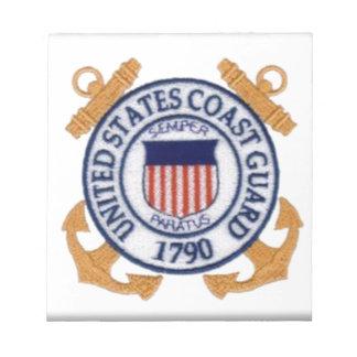 United States Coast Guard Emblem Note Pad