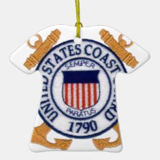 United States Coast Guard Emblem Christmas Ornaments