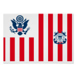 United States Coast Guard Ensign Posters