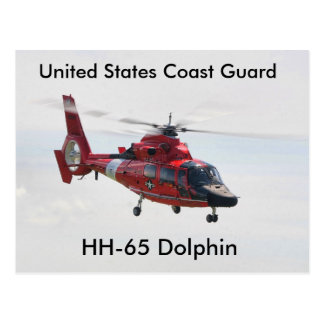 United States Coast Guard, HH-65 Dolphin Postcard