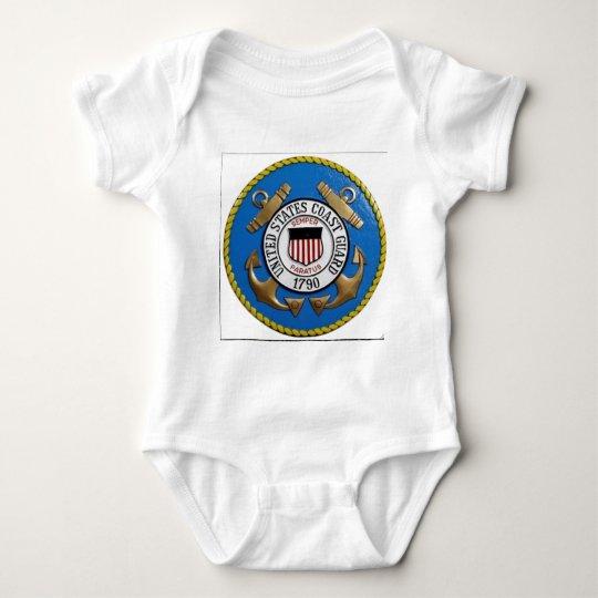UNITED STATES COAST GUARD INSIGNIA BABY BODYSUIT