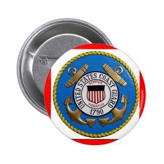 UNITED STATES COAST GUARD INSIGNIA BUTTON