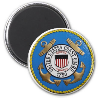 UNITED STATES COAST GUARD INSIGNIA MAGNET
