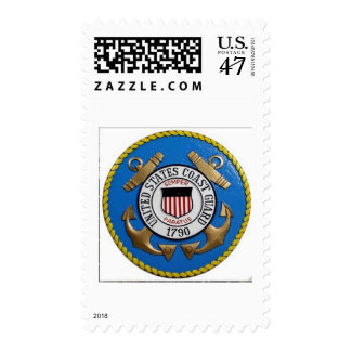UNITED STATES COAST GUARD INSIGNIA POSTAGE