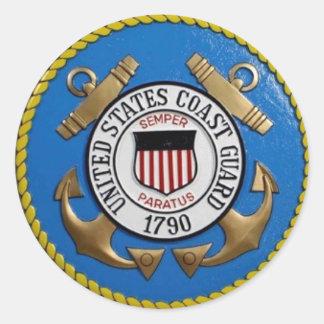 UNITED STATES COAST GUARD INSIGNIA STICKER