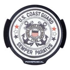 United States Coast Guard Led Car Decal at Zazzle