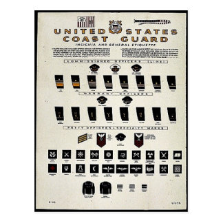 United States Coast Guard Postcard