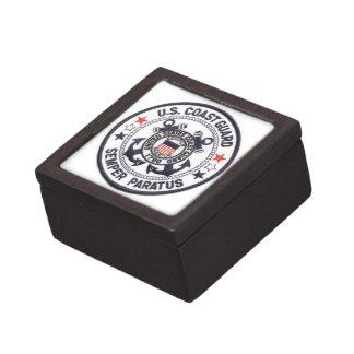 United States Coast Guard Premium Jewelry Box