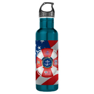 United States Coast Guard Reserve Water Bottle