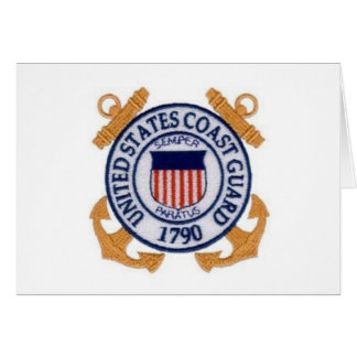 United States Coast Guard Seal Card